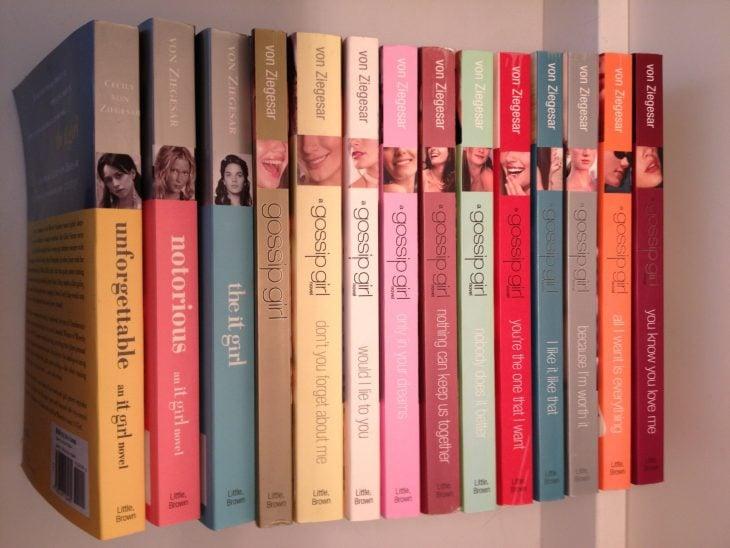 Libros en los que se basó la serie de Gossip Girl