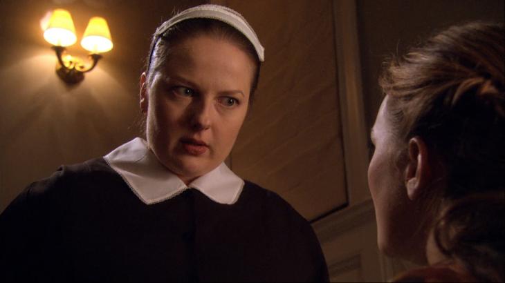 Empleada doméstica de Blair Waldorf, Dorota, en la serie Gossip Girl
