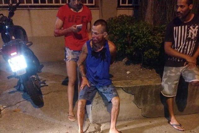 Asaltante detenido por la policía