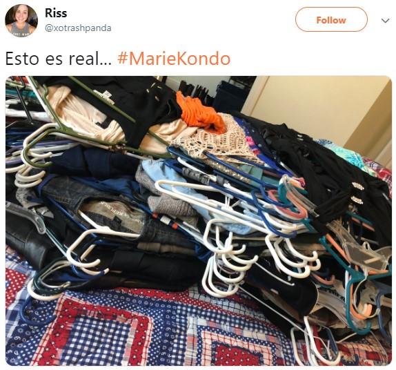 Personas en Twitter reaccionan a la gurú del orden Marie Kondo y su nuevo programa en Netflix