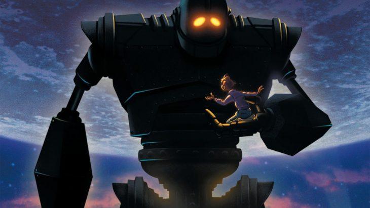 Escena de la película El gigante de hierro