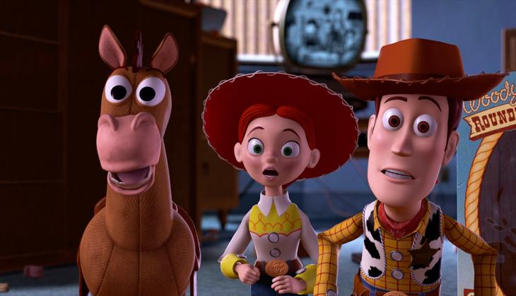 Escena de la película Toy Story