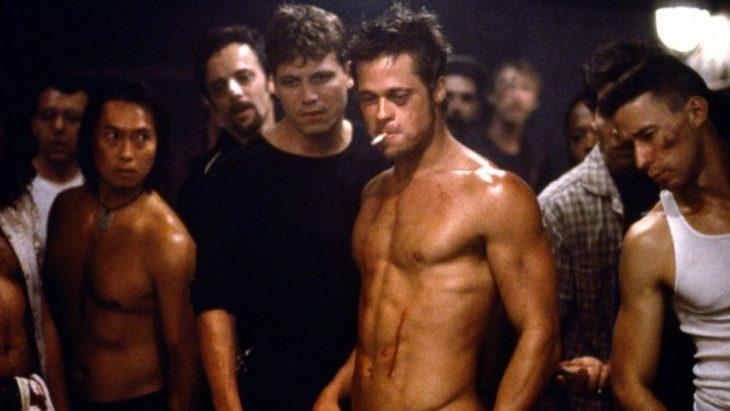 Escena de la película El club de la pelea