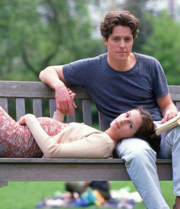 Escena de la película un lugar llamado notting hill