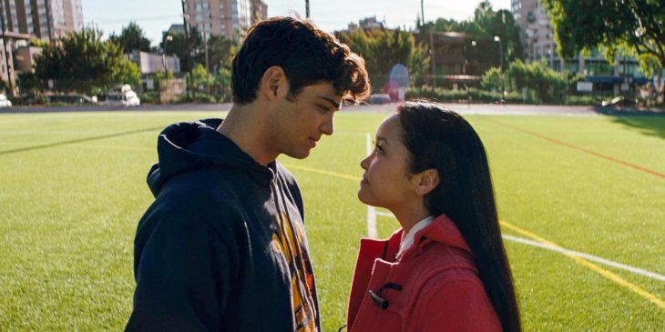 Escena de la película a todos los chicos de los que me enamoré.