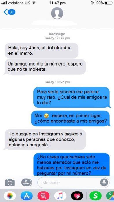 Chico le manda mensajes a chica desconocida y la gente lo compara con la serie de Netflix You