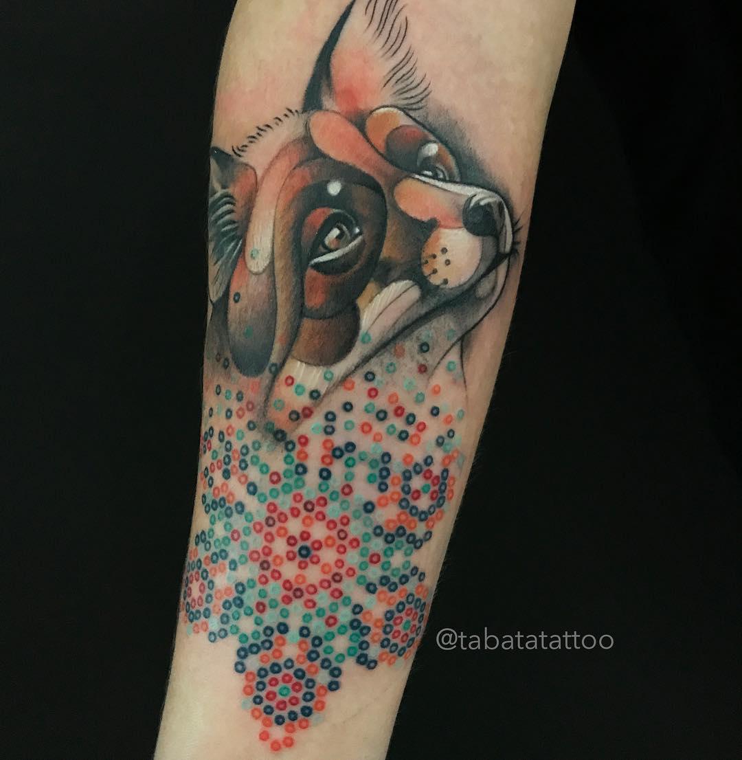 Artista Realiza Tatuajes Que Parecen Bordados En La Piel