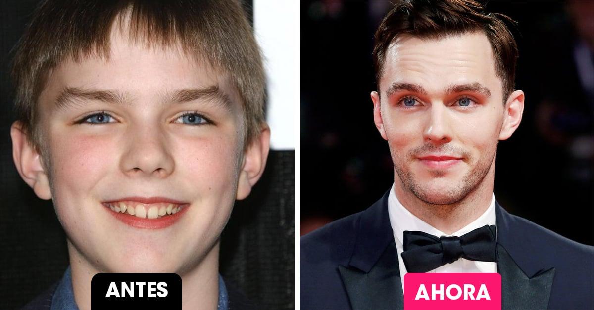 13 Niños famosos no tan lindos que se convirtieron en los hombres más guapos de Hollywood