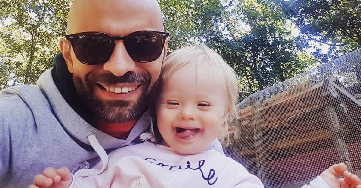 Esta bebé fue rechazada 20 veces, él se convirtió en su salvador y su nuevo papá