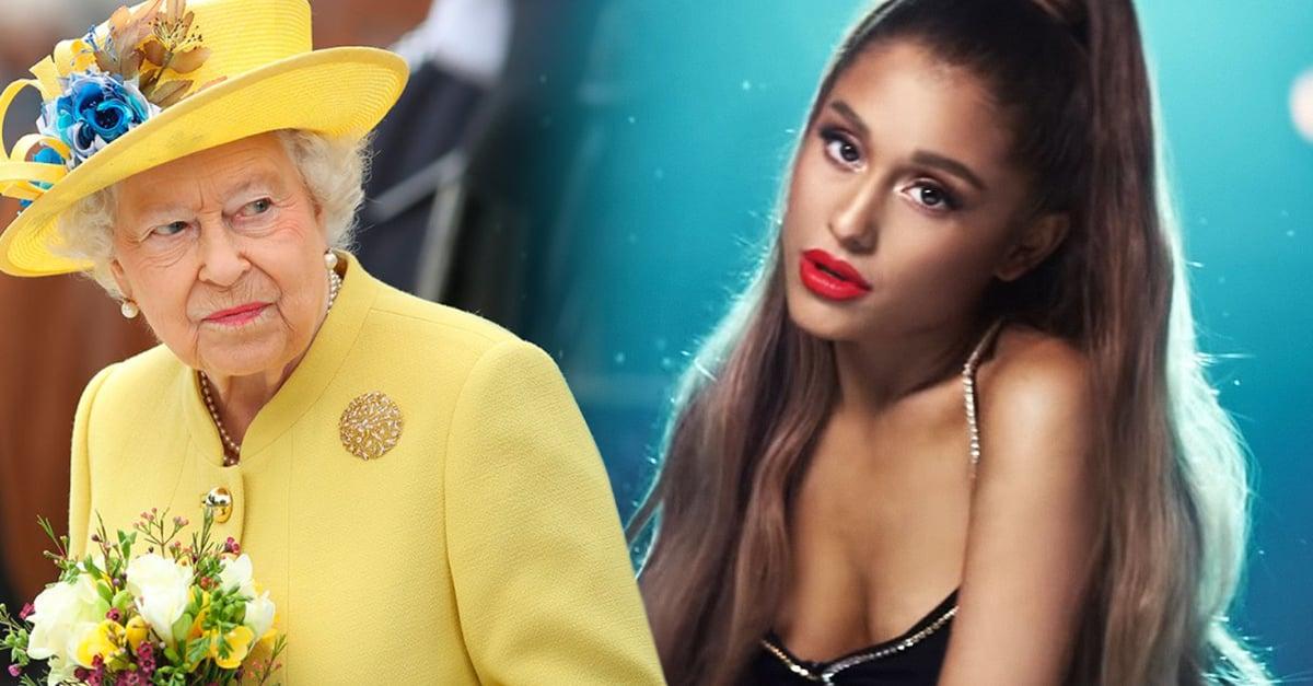 Ariana Grande rechaza la condecoración que la reina Isabel II le otorga
