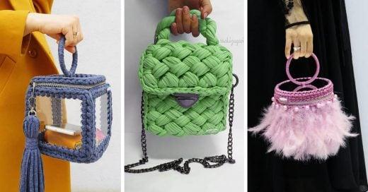 Alerta tendencia: cambia la piel por la tela con estos originales bolsos tejidos