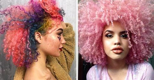 17 Consejos para que tiñas tu cabello chino sin que se te dañe