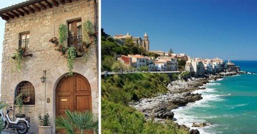En Sambuca, Italia, están vendiendo casas a la orilla del mar en un euro