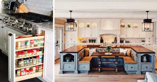 Un día eres joven y al otro quieres tener una de estas cocinas
