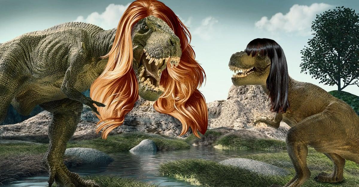 Alerta: ¡los dinosaurios tenían un pelazo largo!