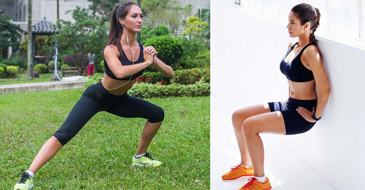 10 Sencillos ejercicios para acabar con la celulitis de manera definitiva