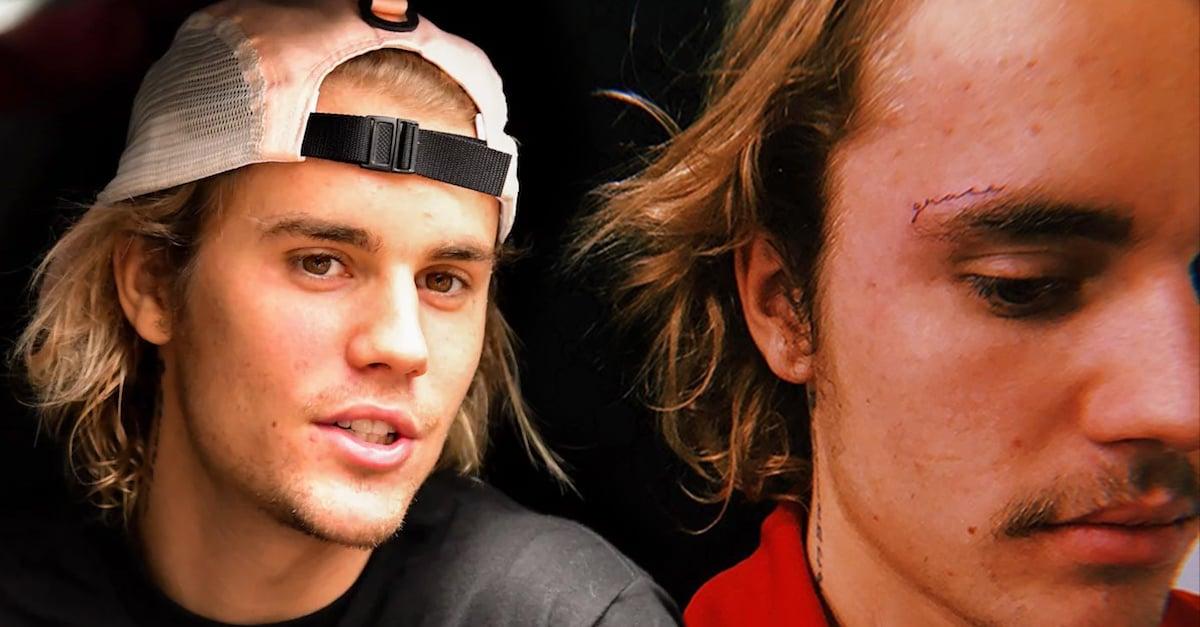 Justin Bieber recibe el año con un nuevo tatuaje