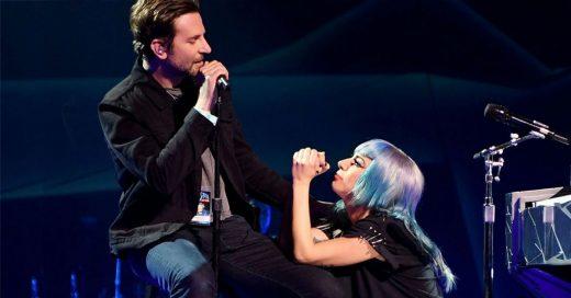 Bradley Cooper toma el lugar de Ali e interpreta 'Shallow' en pleno concierto de Lady Gaga