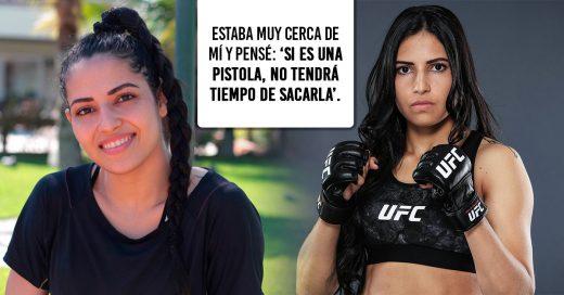 Una luchadora de la UFC le dio una paliza a un asaltante