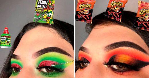 Crea divertidoslooksde maquillaje inspirados en la comida chatarra más popular de México