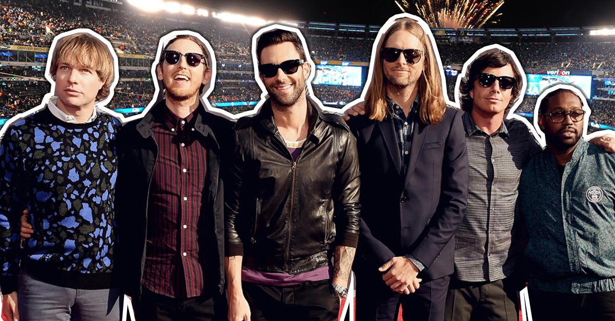 ¡Confirmado! Maroon 5 dará el show de medio tiempo en el Super Bowl