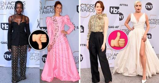 Los peor vestidos de los SAG Awards 2019