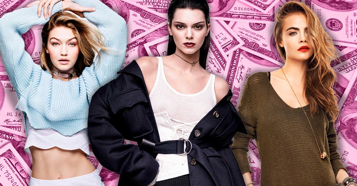 Estás son las modelos mejor pagadas del mundo según Forbes