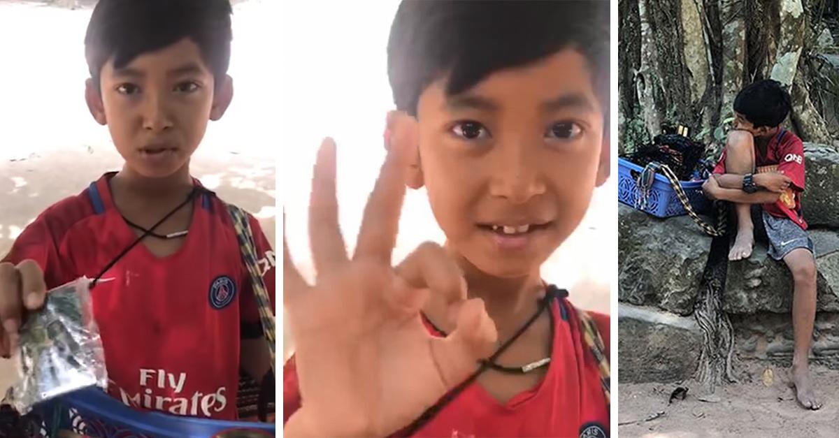 Niño aprendió a hablar más de diez idiomas diferentes para vender 'souvenirs' a los turistas