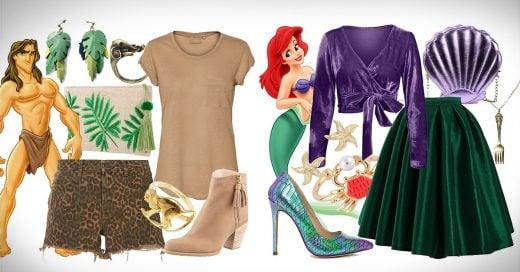 15 outfits inspirados en tus personajes favoritos de Disney