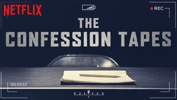 portada promocional de la serie the confession tapes