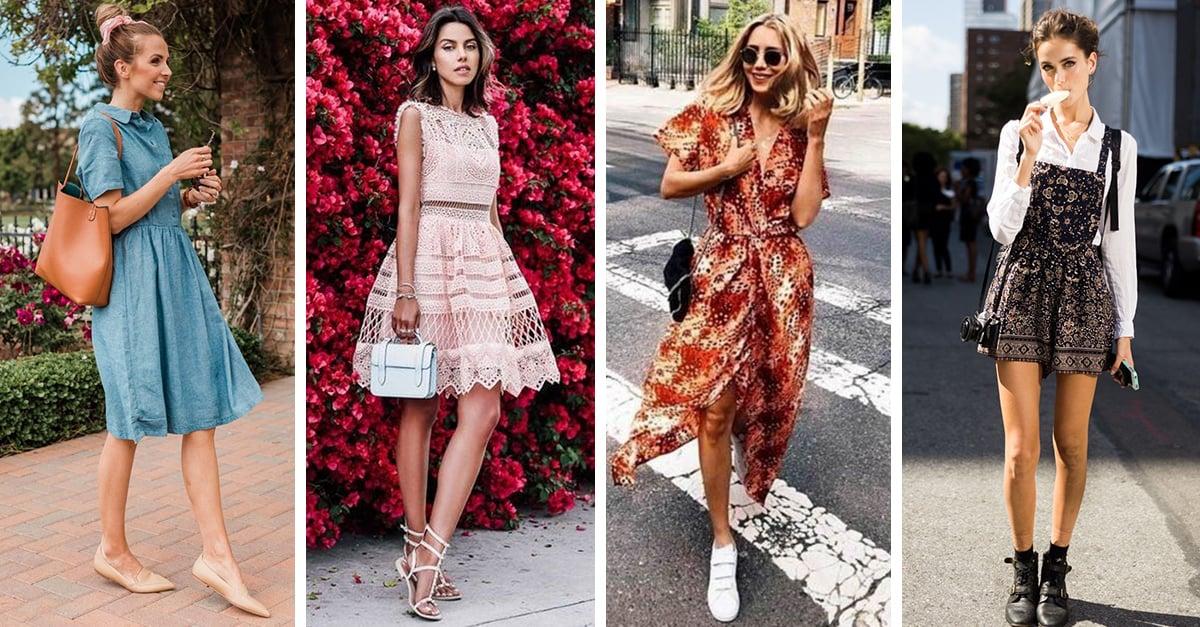 13 Formas de usar vestido sin tener que llevar tacones