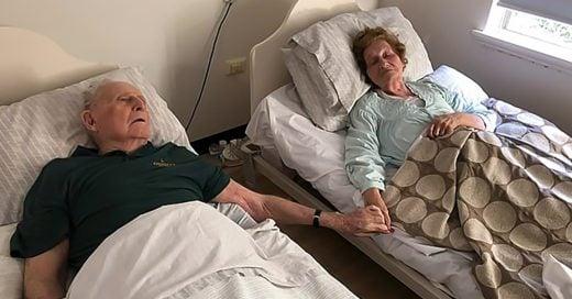 Después de 70 años juntos, esta pareja de viejitos murieron igual que vivieron: juntos