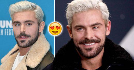 Zac Efron cambió su look y ahora es el sugar daddy que todas deseamos