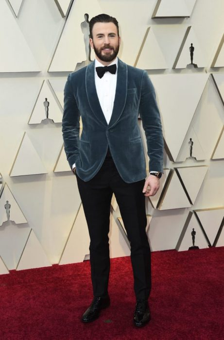 La caballerosidad de Chris Evans roba suspiros en los premios Óscar