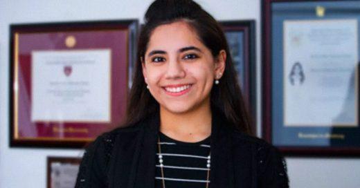 Esta joven mexicana cursara una maestría en Harvard; ¡solo tiene 17 años!