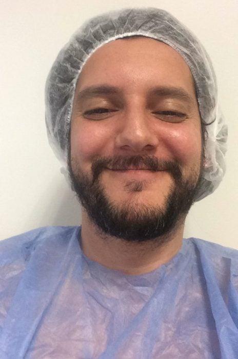 Hombre argentino se hace la vasectomía