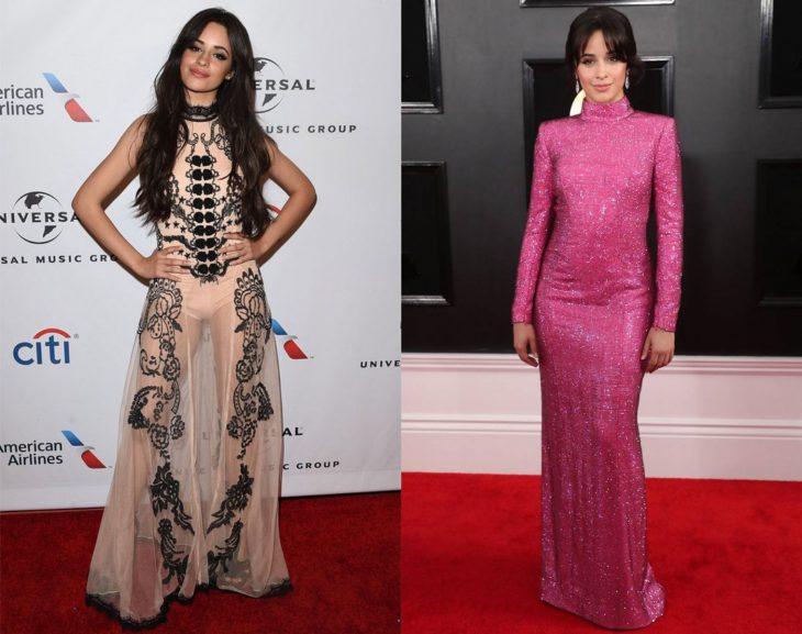 Cuánto cambiaron las celebridades en su primer y último Grammy, Camila Cabello