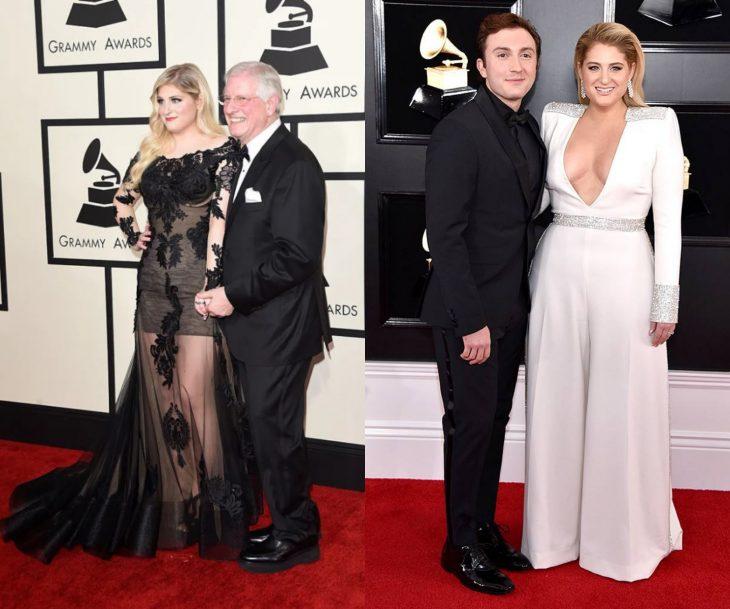 Cuánto cambiaron las celebridades en su primer y último Grammy, Meghan Trainor