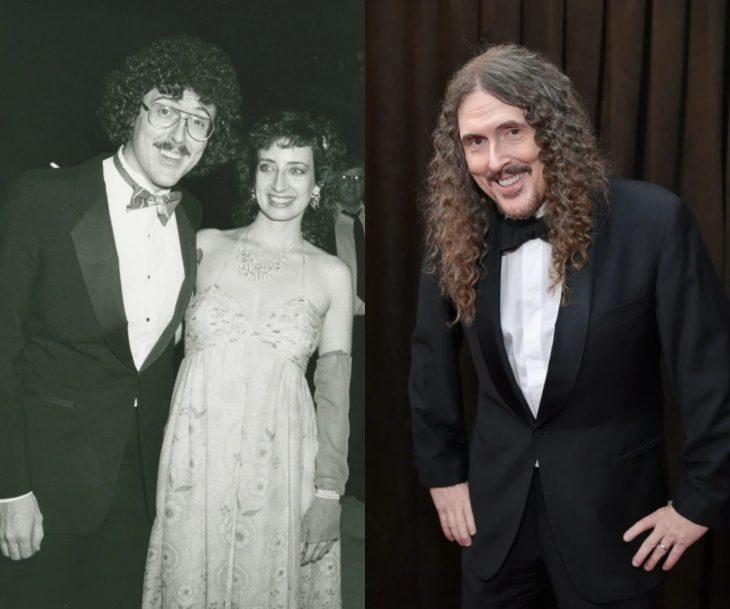 Cuánto cambiaron las celebridades en su primer y último Grammy, Weir Al Yankovic