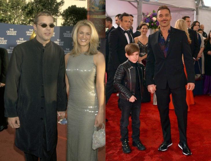 Cuánto cambiaron las celebridades en su primer y último Grammy, Ricky Martin
