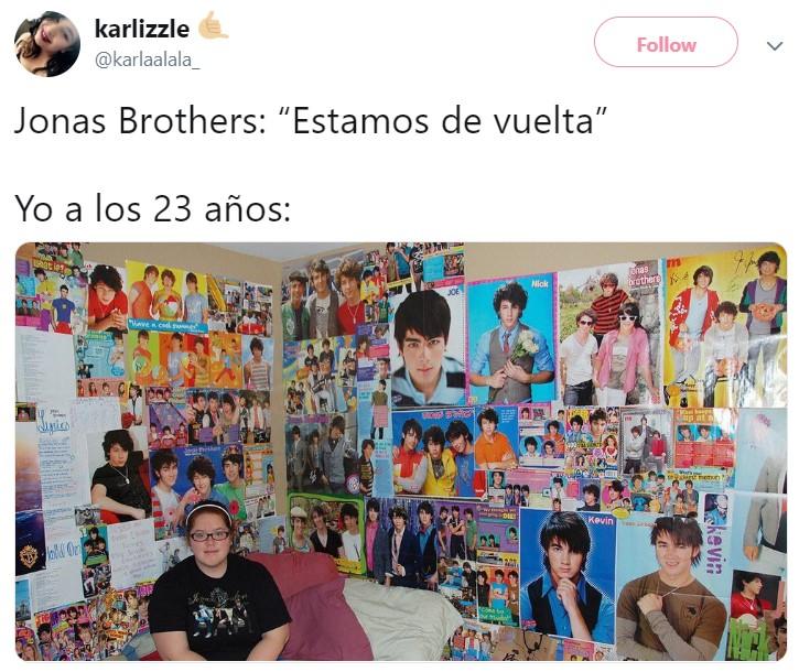 Los Jonas Brothers vuelven después de estar separados por seis años