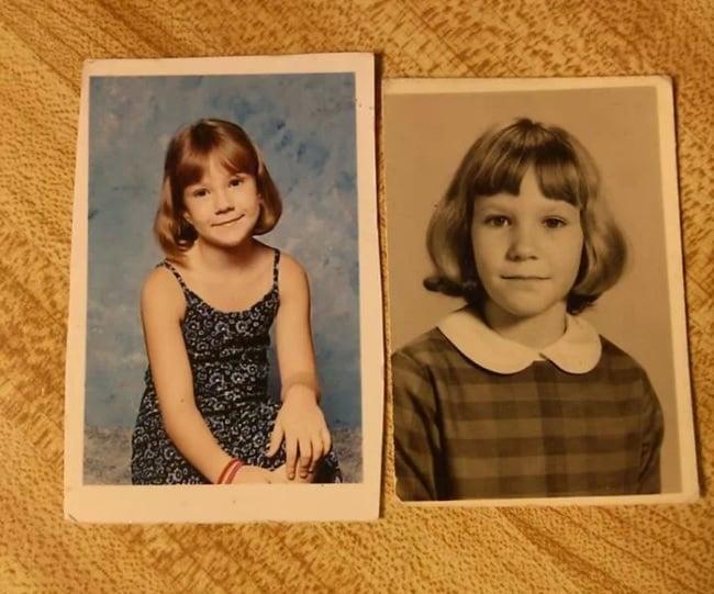 fotografías antiguas de niñas