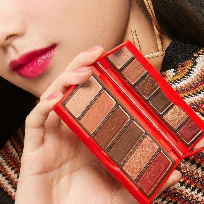 Línea de maquillaje inspirada en el chocolate Kit Kat