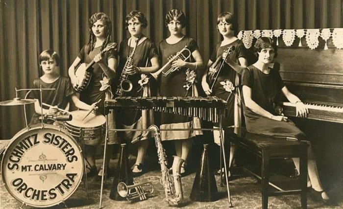 Orquesta de las hermanas Schmitz