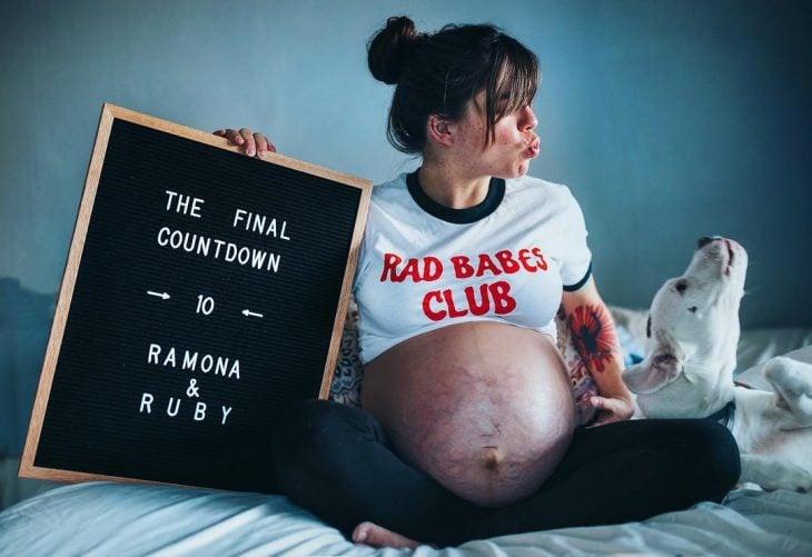 Panzas reales de mujeres embarazadas