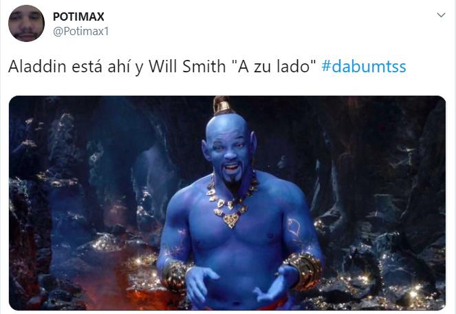 Memes sobre el nuevo trailer de aladdin