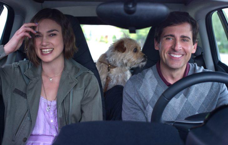 amigos viajando en automovil