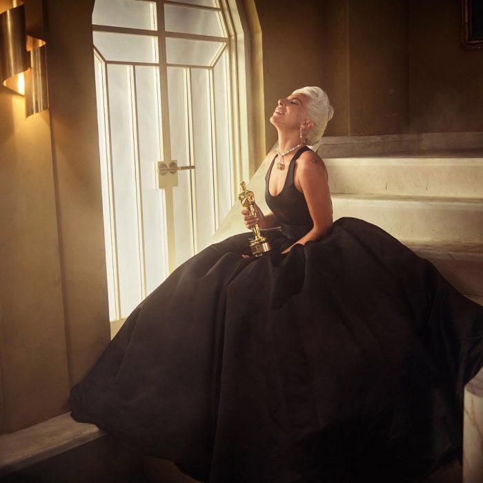 Famosos en los Oscar 2019 fotografiados por Vanity Fair, Lady Gaga