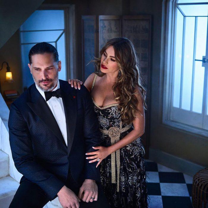 Famosos en los Oscar 2019 fotografiados por Vanity Fair, Sofia Vergara y Joe Manganiello