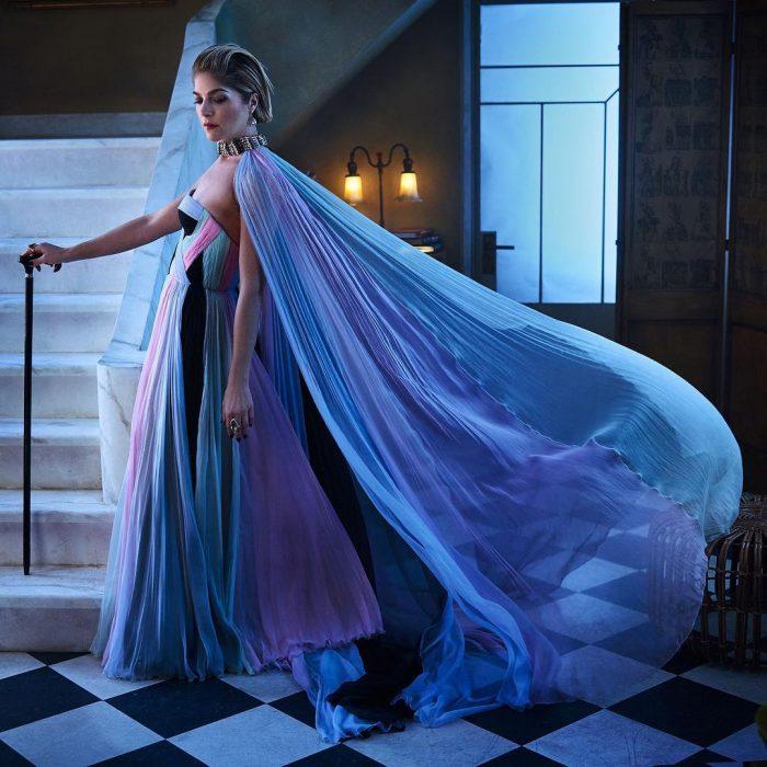 Famosos en los Oscar 2019 fotografiados por Vanity Fair, Selma Blair